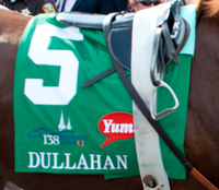 May 5, 2012: Saddled and ready for the Kentucky Derby.